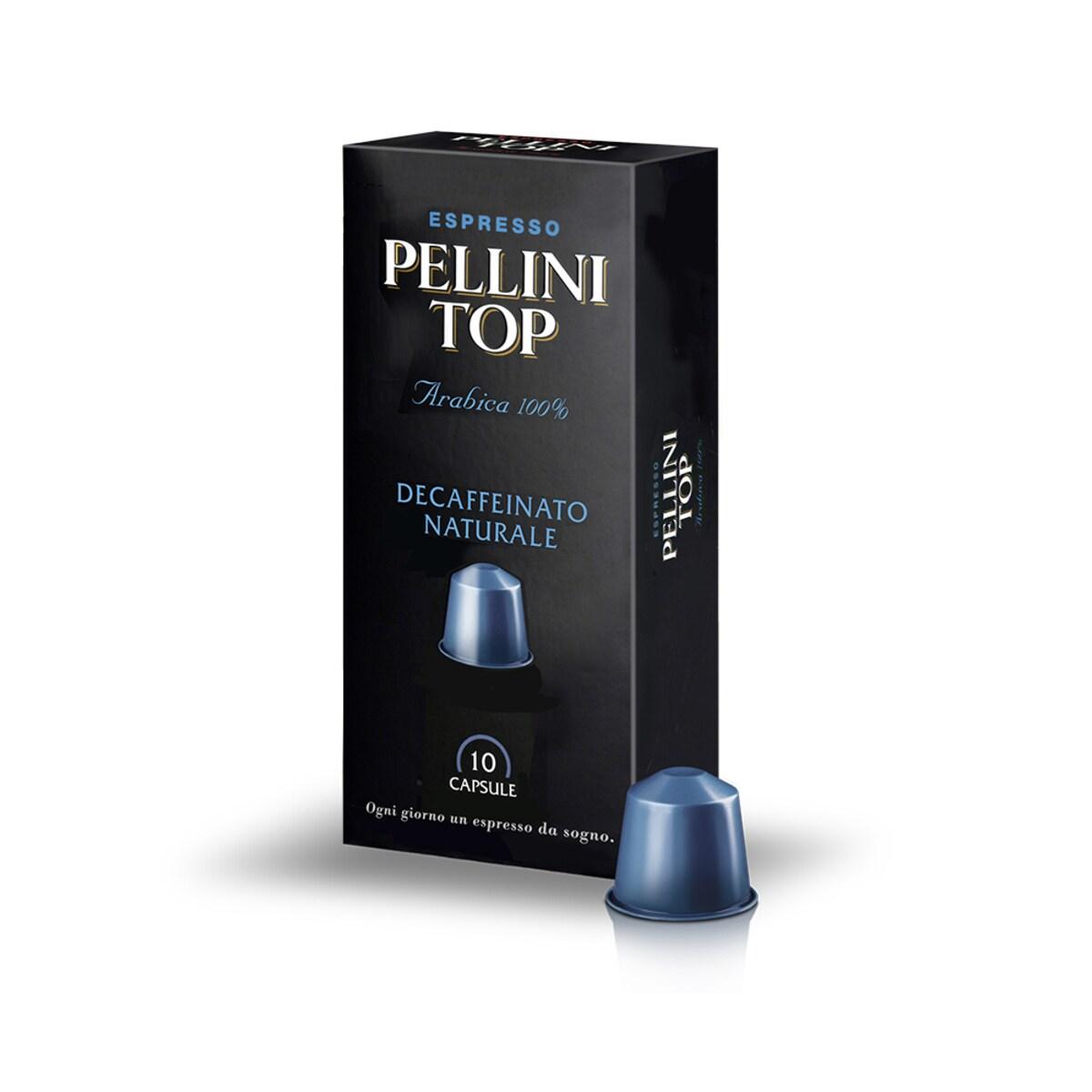 Pellini Top Decaffeinato Nespresso съвместими капсули 10бр