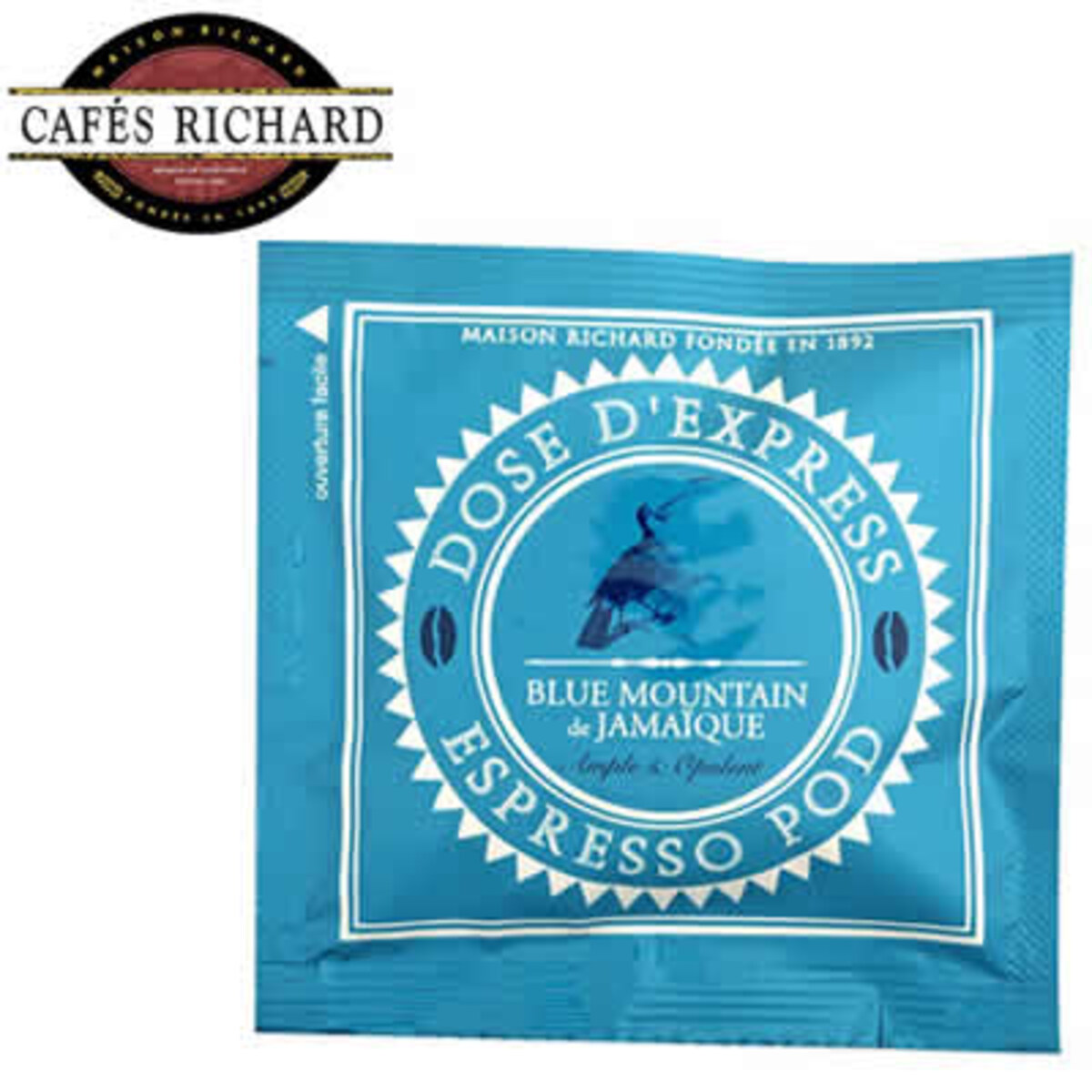 Cafés Richard Blue Mountain de JamaÏ​que -  1 бр доза в опаковка