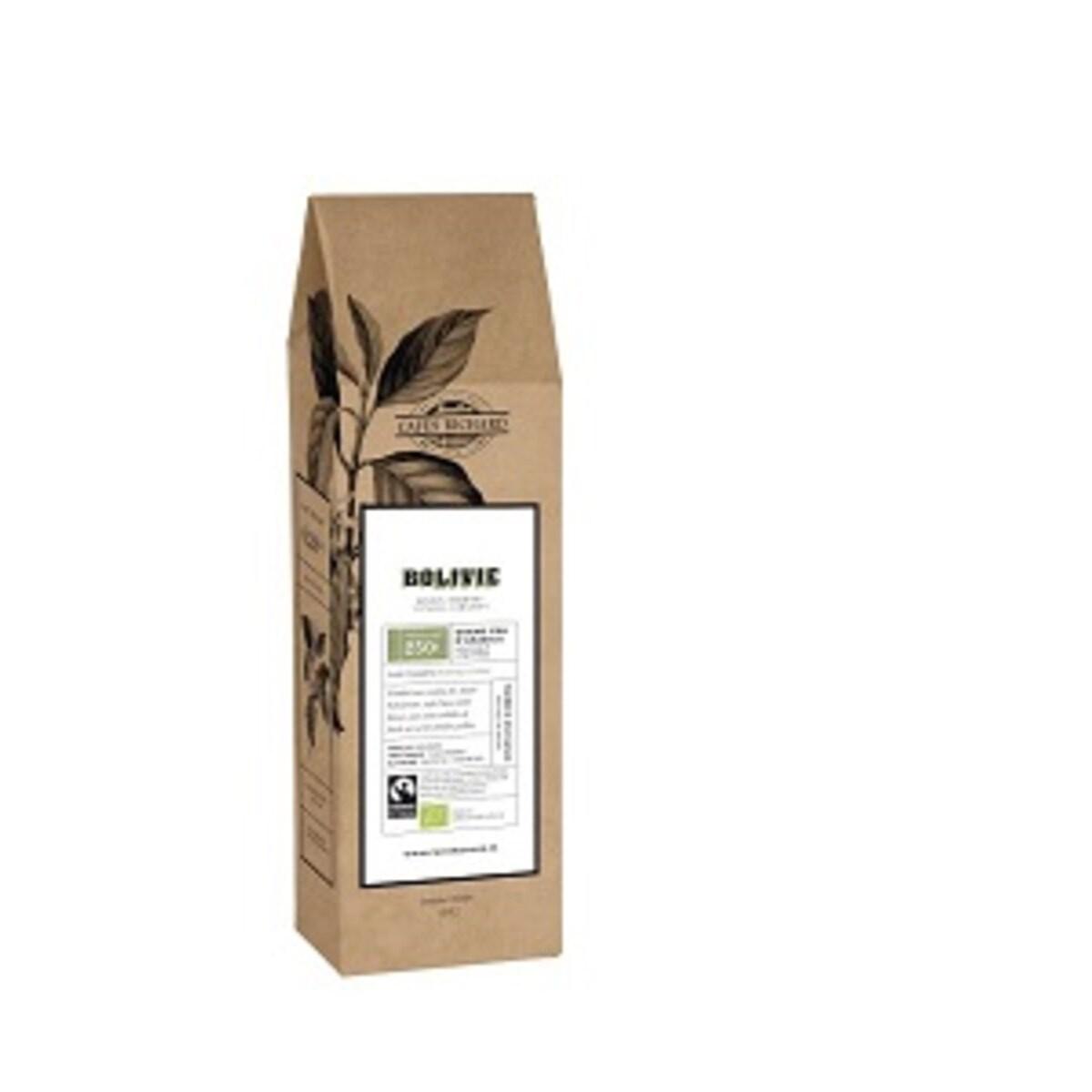 Bolivie Bio от Cafés Richard, кафе на зърна 250гр