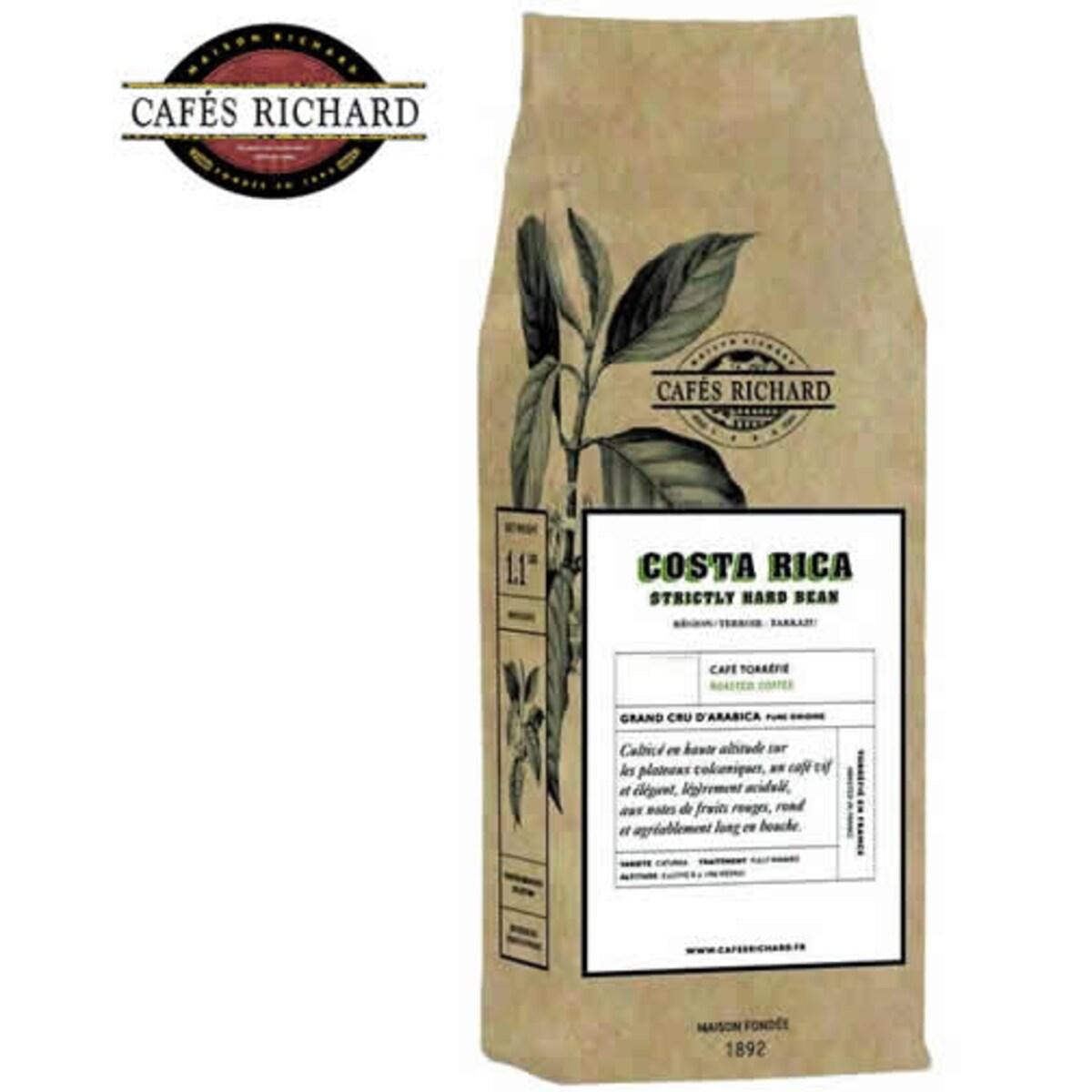 Cafés Richard Costa Rica - кафе на зърна 500 гр