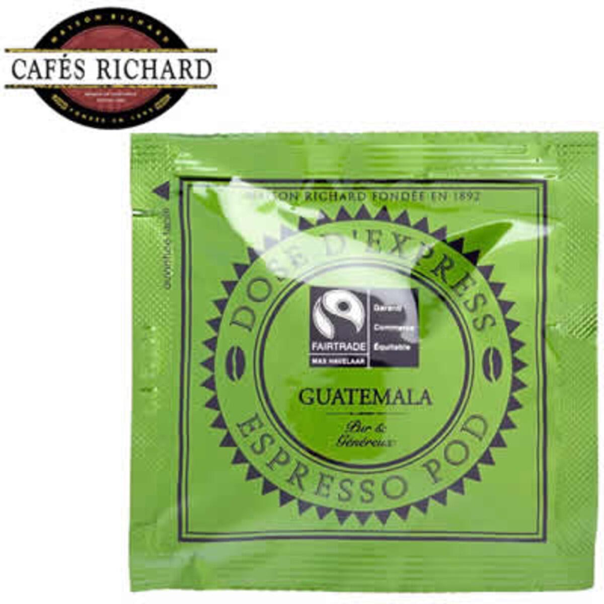Cafés Richard Guatemala Max Havelaar - 1 бр доза в опаковка