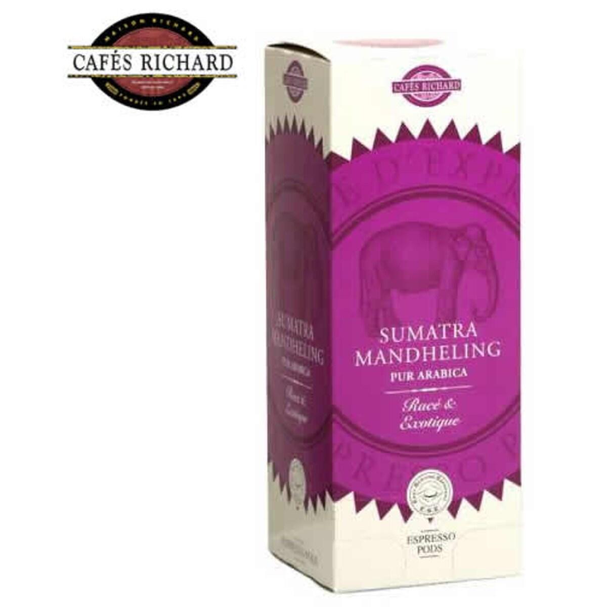Cafés Richard Sumatra Mandheling - дози