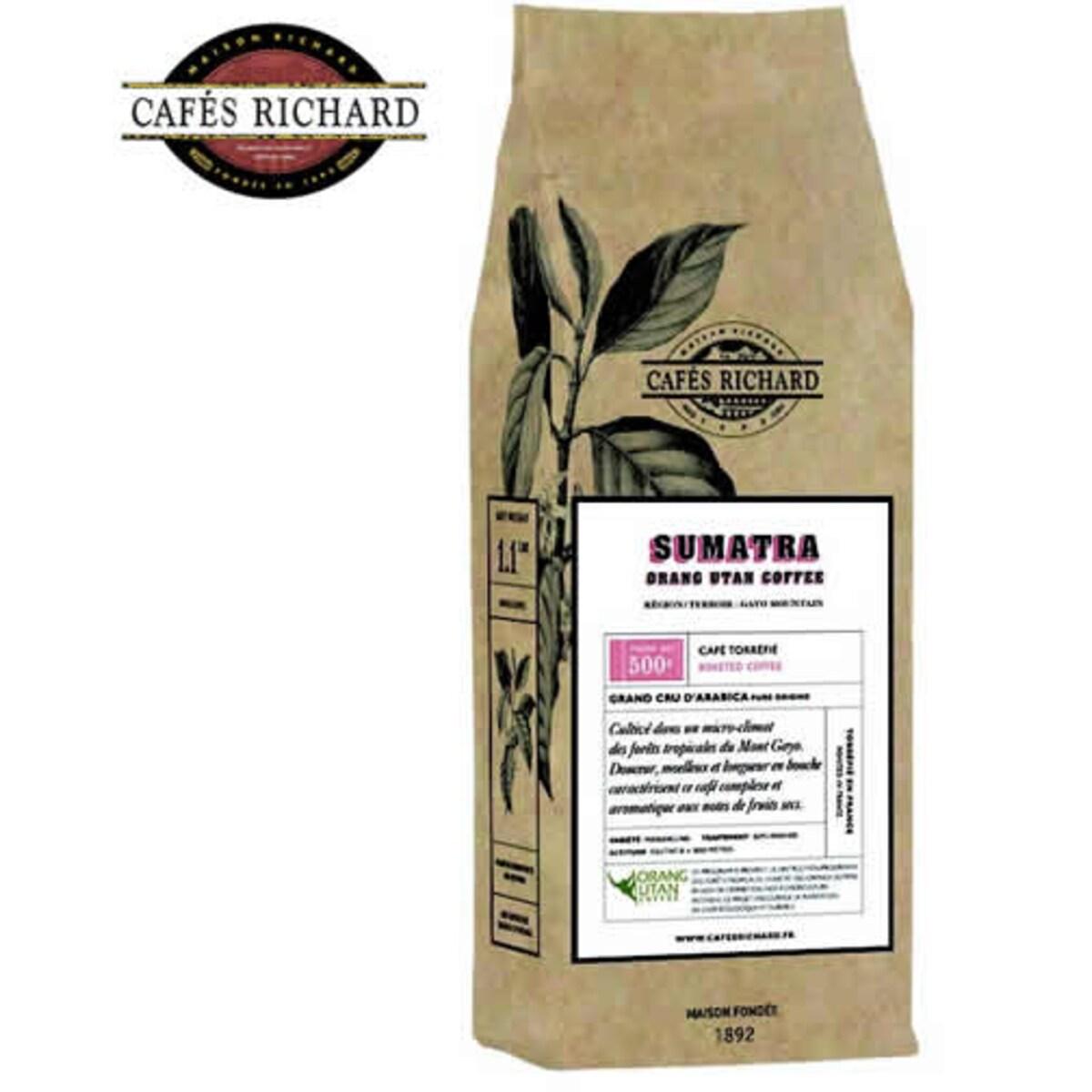 Cafés Richard Sumatra - кафе на зърна 500 гр