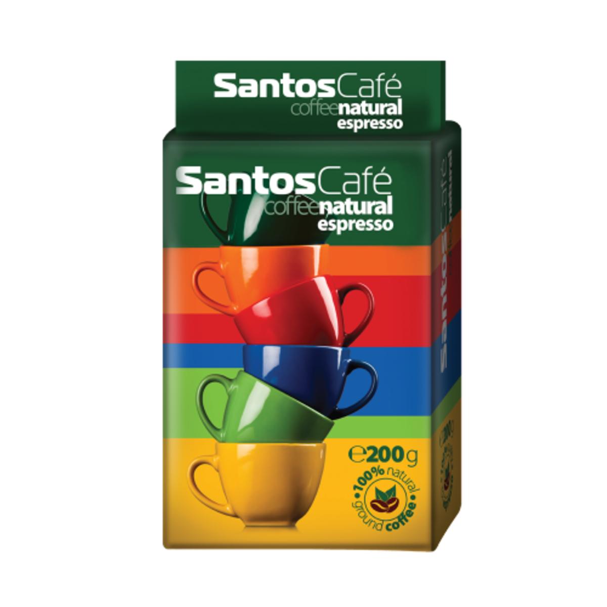 Santos Cafe Natural мляно кафе 200гр