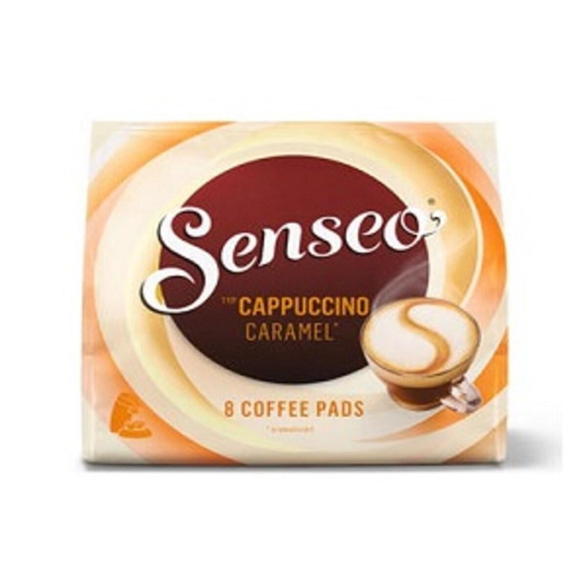 Senseo Капучино карамел 8бр падове за Сенсео кафемашина