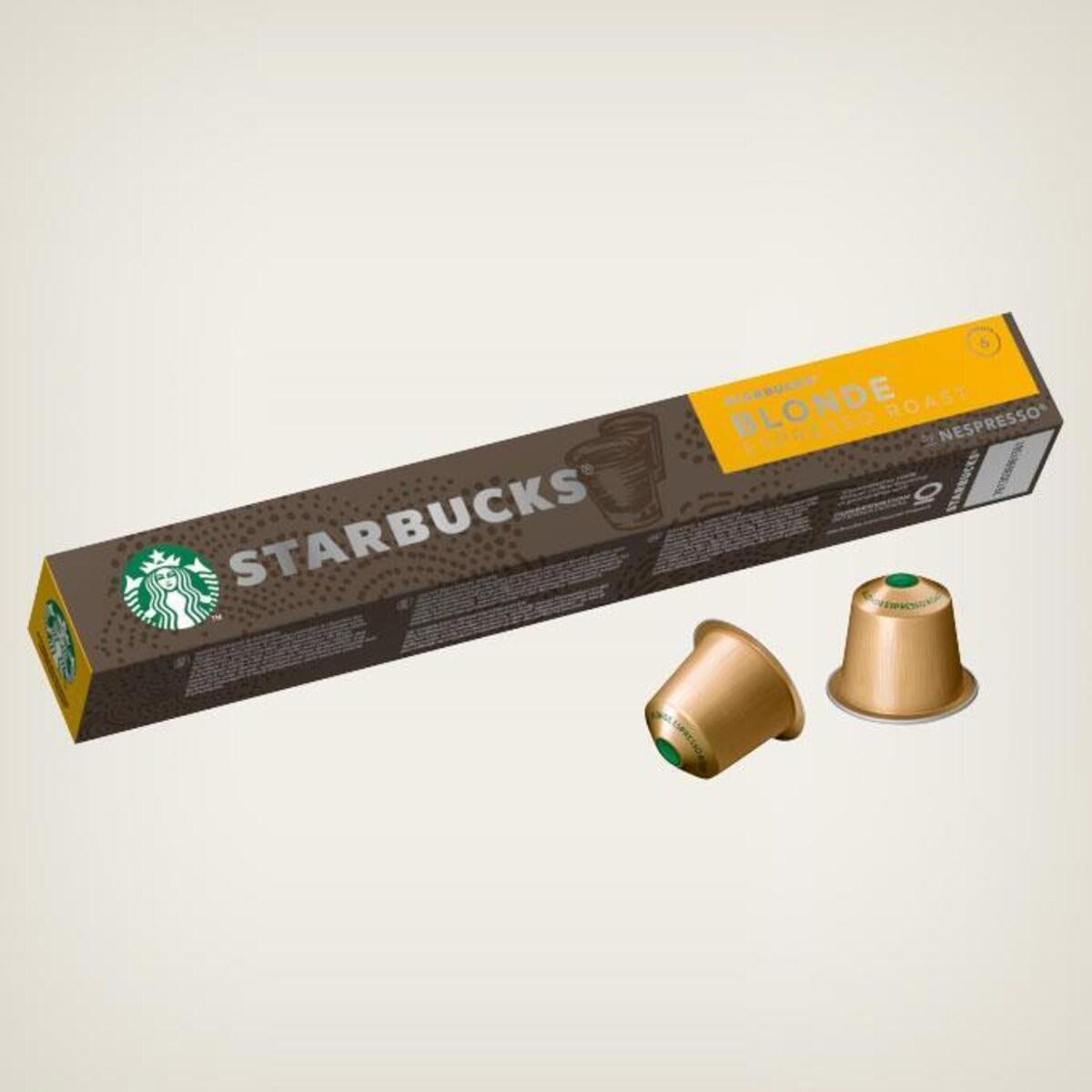Starbucks Espresso Blonde 10бр Nespresso съвместими капсули