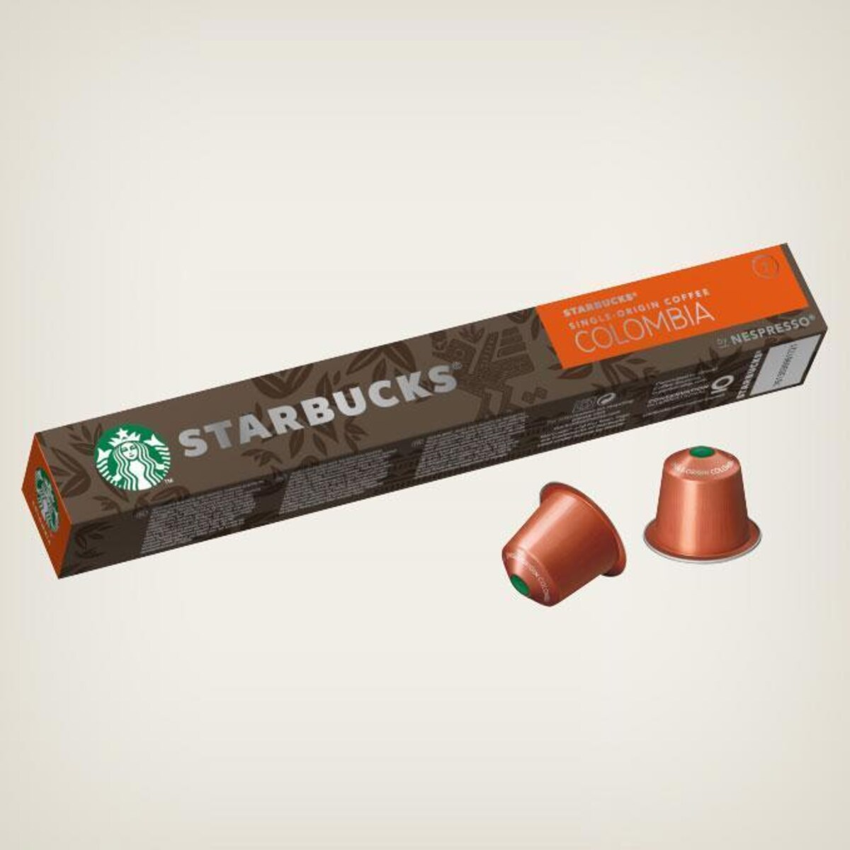Starbucks Colombia 10бр Nespresso съвместими капсули