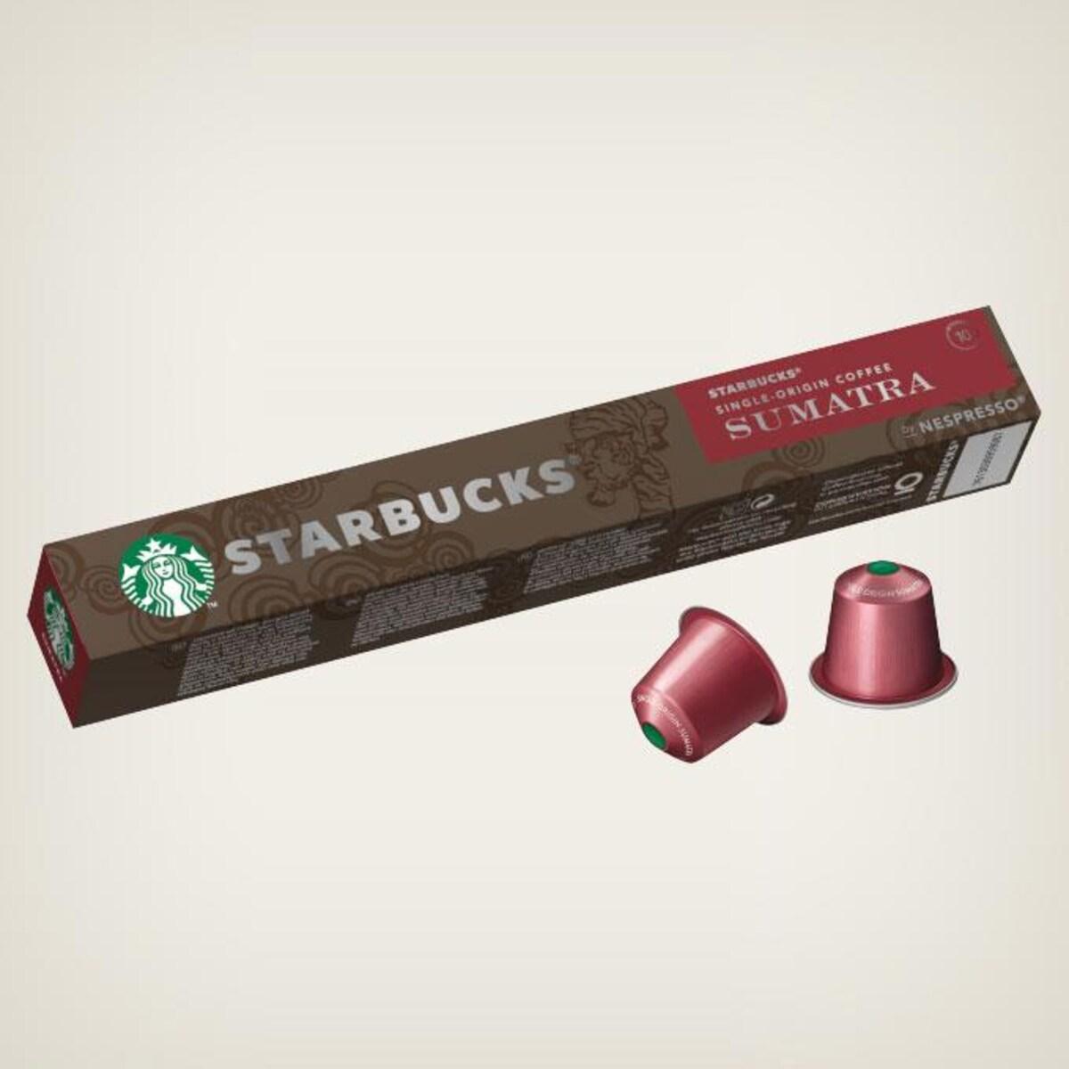 Starbucks Sumatra 10бр Nespresso съвместими капсули
