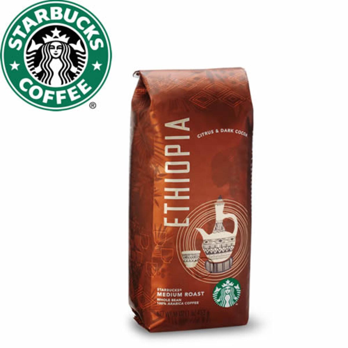 Starbucks Ethiopia 250гр кафе на зърна
