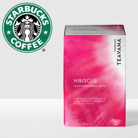 Starbucks чай Hibiscus 12бр сашета