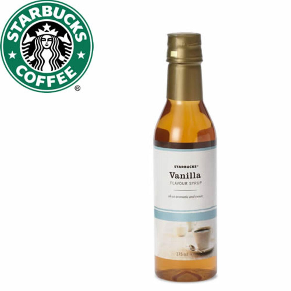 Starbucks ванилия сироп 375мл
