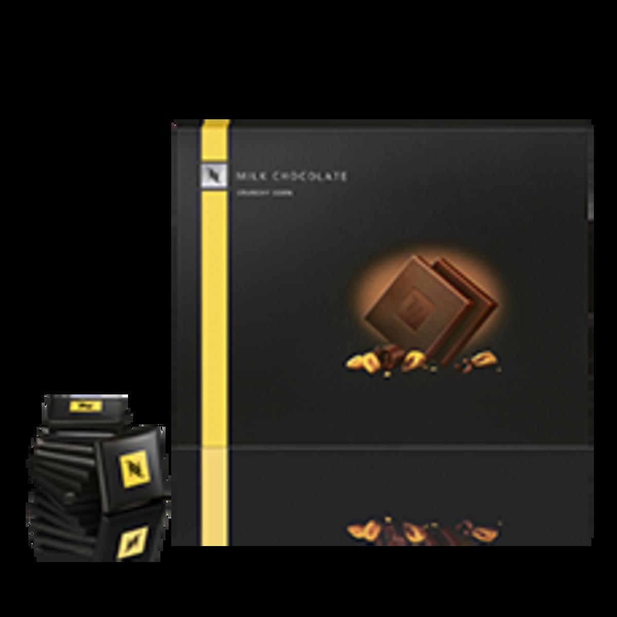 Nespresso млечни шоколадчета Crunchy Corn