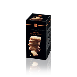 Nespresso Orange Flavoured Biscuits