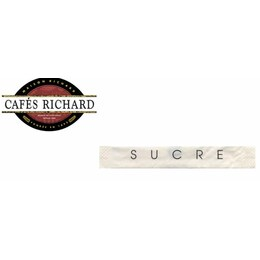 Cafes Richard - Захар натурална на пакетчета - 500бр