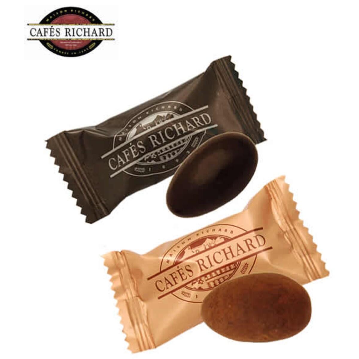 Cafés Richard Amandes Chocolat Noir Lait 200 шоколадови бадеми