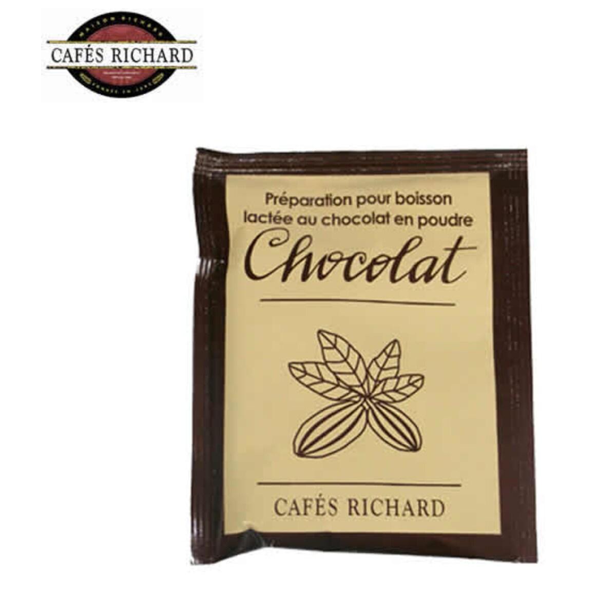 Cafés Richard Chocolat - Горещ шоколад на прах с мляко в пакетче, 30гр