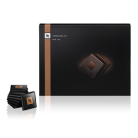 Nespresso кутия черни шоколадчета