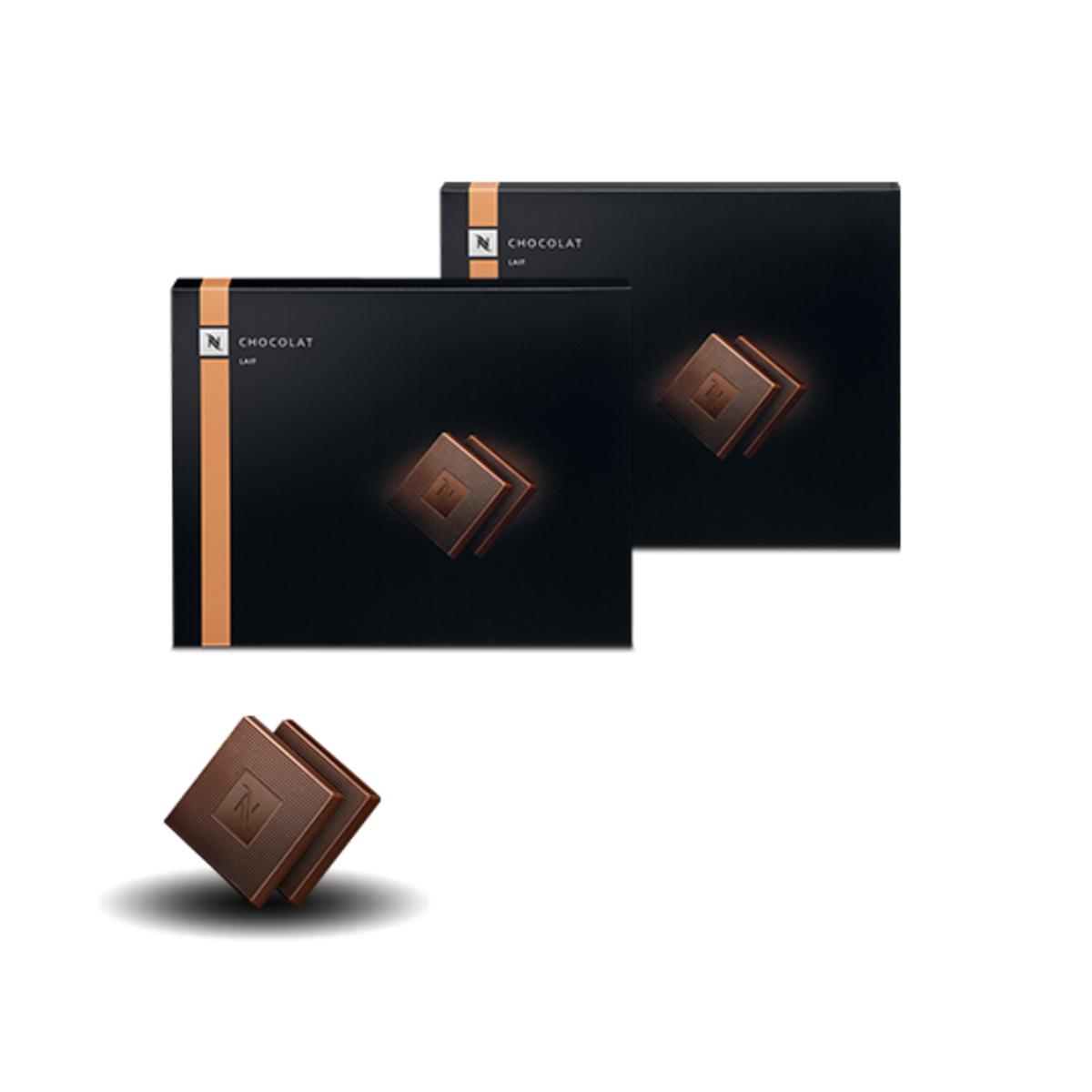 Nespresso Milk Chocolate шоколовадови блокчета