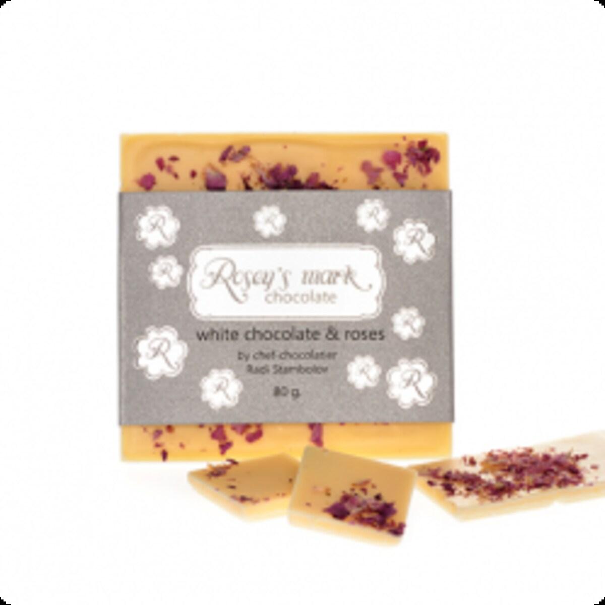 Rosey's mark бял шоколад с рози