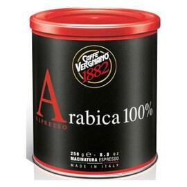 Vergnano Arabica 100% Espresso мляно кафе 250гр кутия