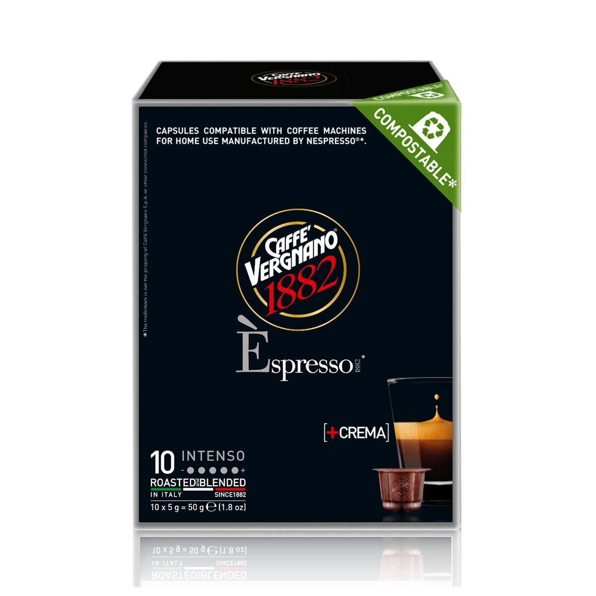 Vergnano Intenso капсули за Nespresso кафемашина