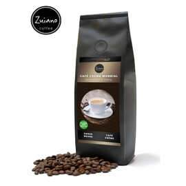 Zuiano Café Crème Mondial - кафе на зърна - 250гр