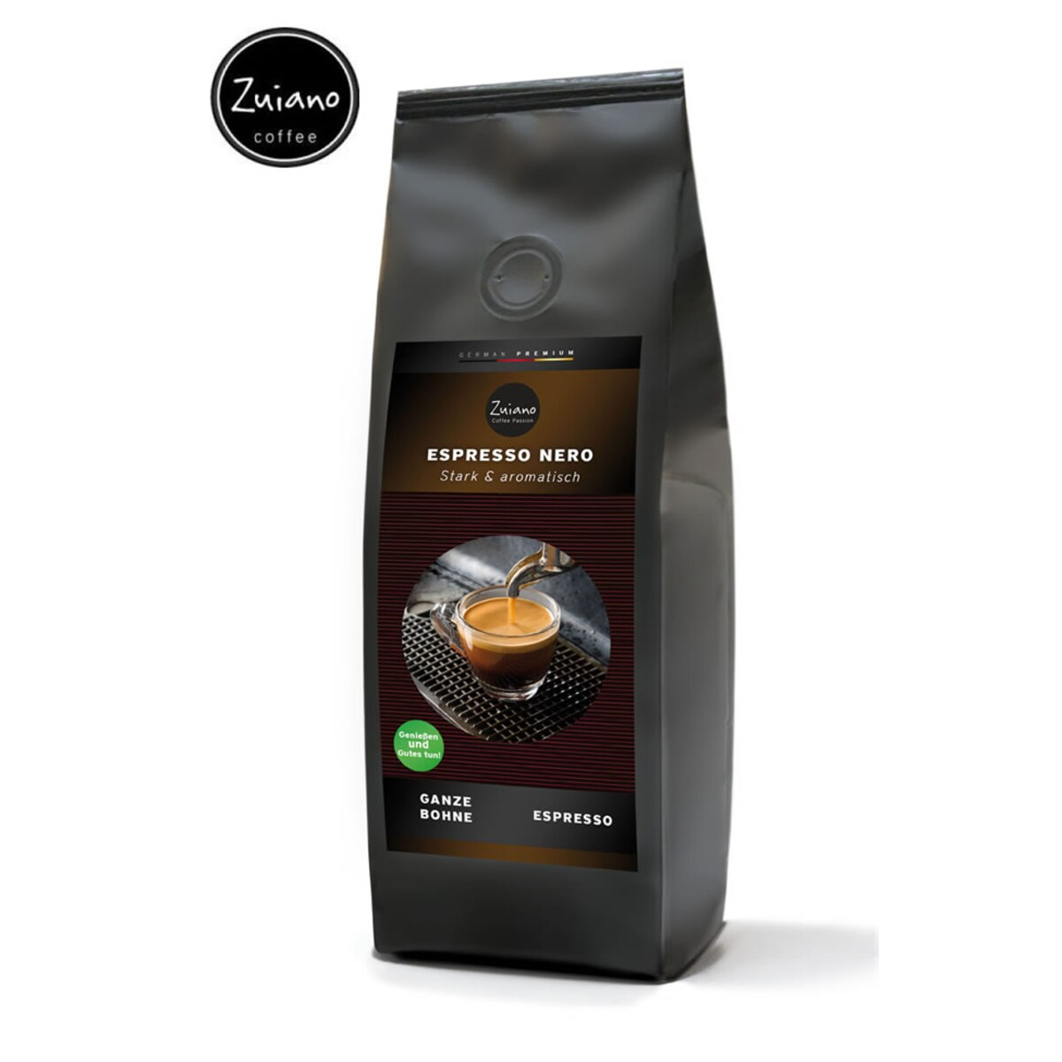 Zuiano Espresso Nero - кафе на зърна - 250 гр