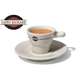 Cafes Richard - Комплект порцеланови чаши, 6бр, 80мл