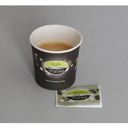 Картонени чаши Kafemania за еспресо кафе 90бр, 130мл