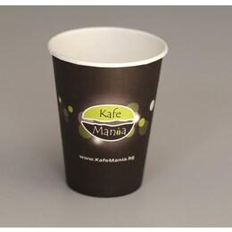 Картонени чаши за лате макиато Kafemania 60бр, 360ml
