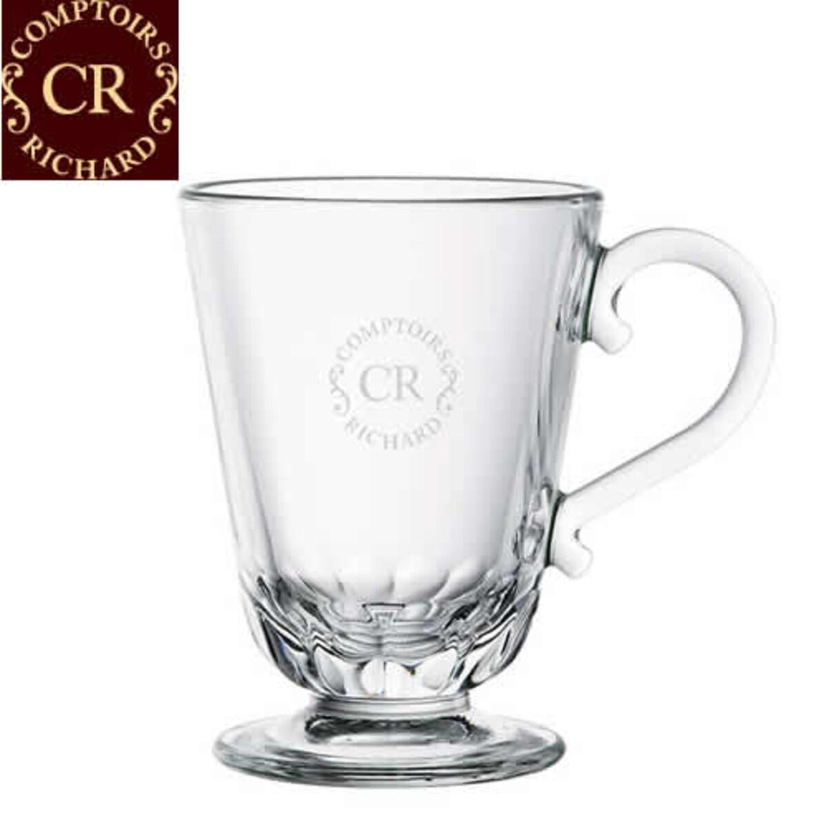 Comptoirs Richard - Стъклена чаша за кафе и чай, 250 мл