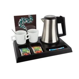 Луксозна дървена табла поставка за чай и кафе SIGNUM