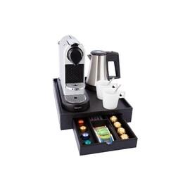 Луксозна дървена табла поставка за чай и кафе SPACE