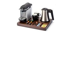 Bentley Xanthic coffee and tea дървена луксозна табла поставка за хотелска стая