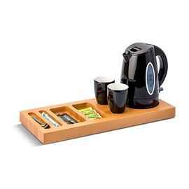 Bentley Xanthic дървена луксозна табла поставка за хотел за чай и кафе, голяма