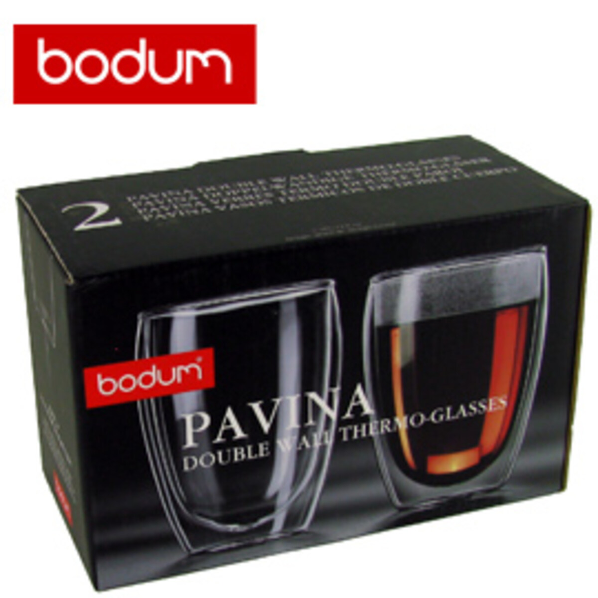 BODUM PAVINA - Двустенни термо чаши, 350 ml