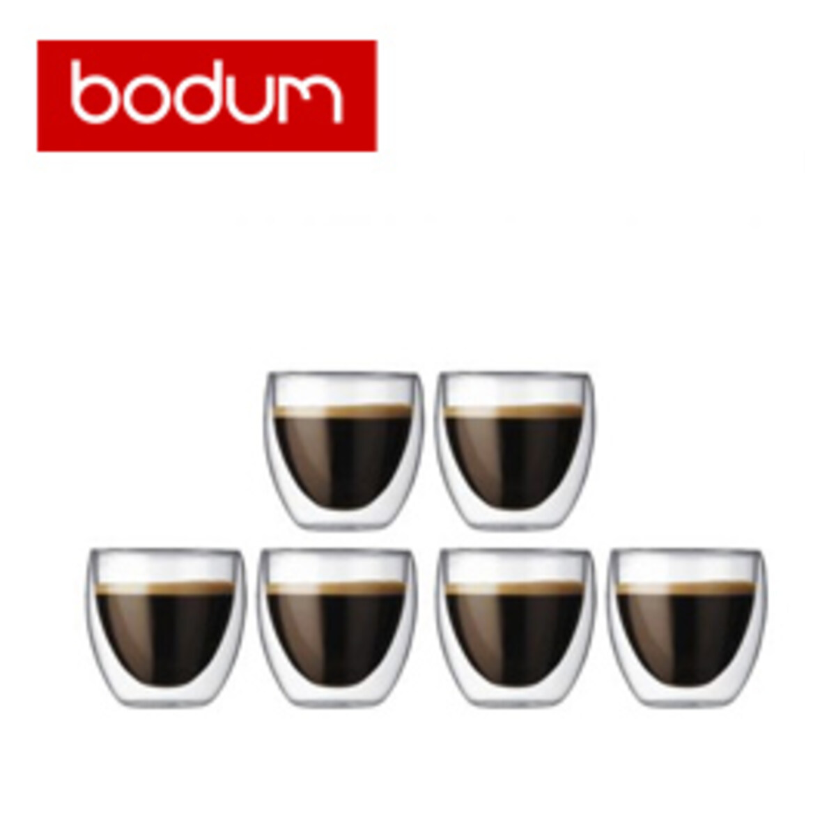 BODUM PAVINA - Double Wall Thermo Cups - 6бр
