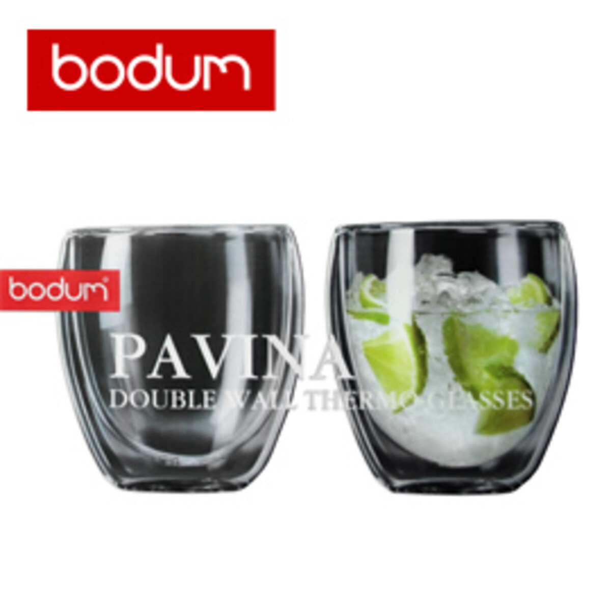 BODUM PAVINA  Double Wall Thermo Cups - 250ml