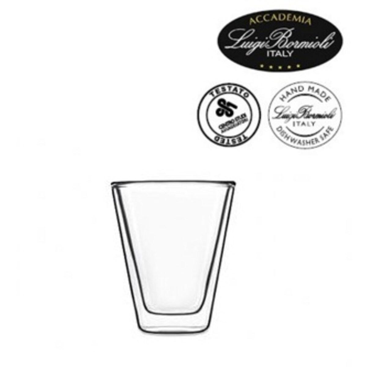 Luigi Bormioli Caffeino - 2 бр двустенни чаши