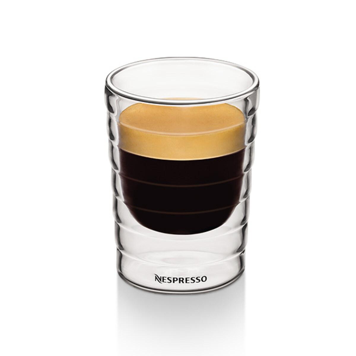 Nespresso комплект от четири двустенни Citiz Espresso чаши
