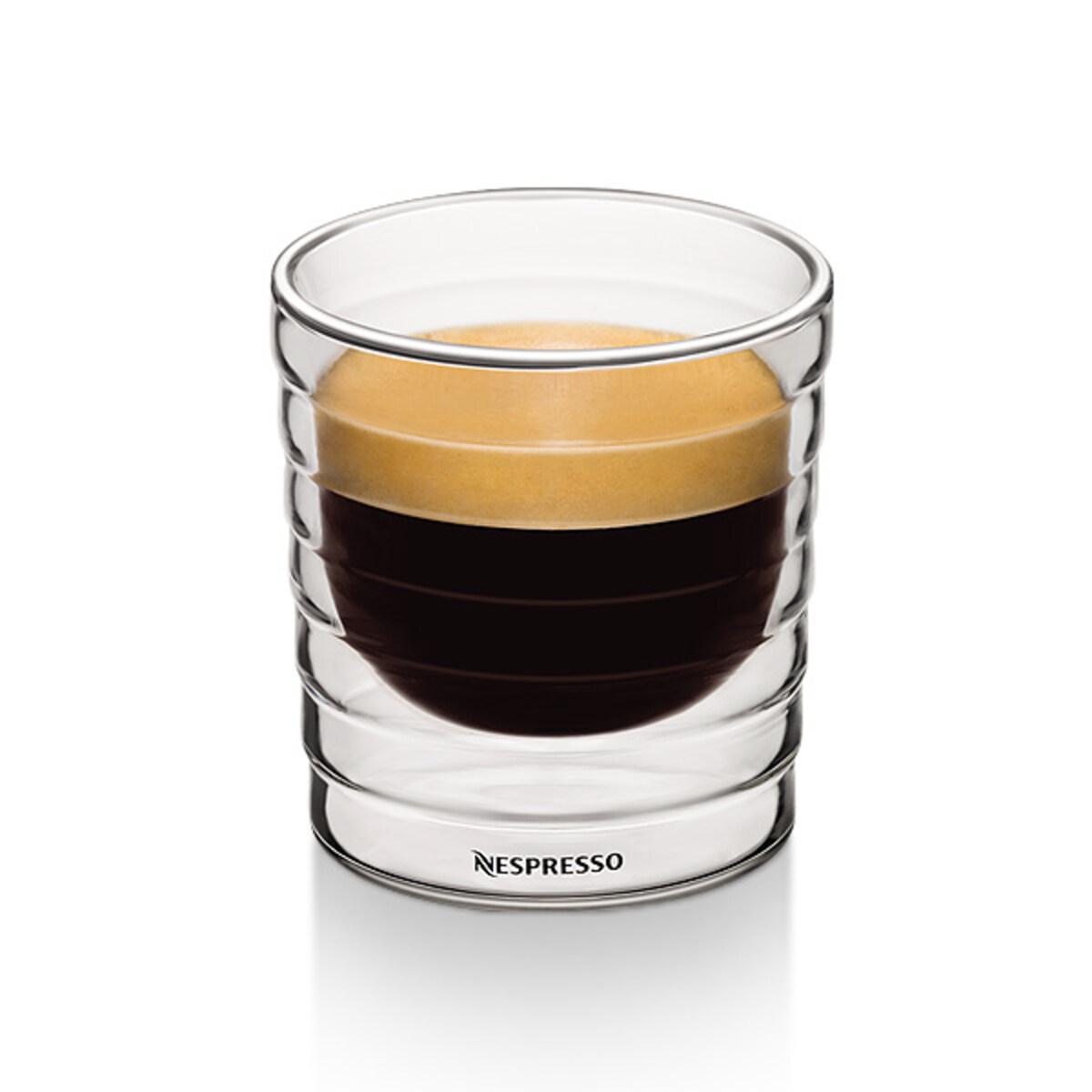 Nespresso комплект от четири двустенни Citiz Lungo чаши