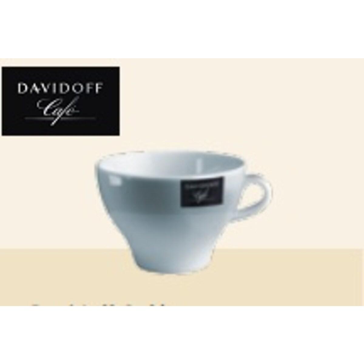 Tchibo Davidoff - комплект порцеланови чаши 6 бр, 250мл