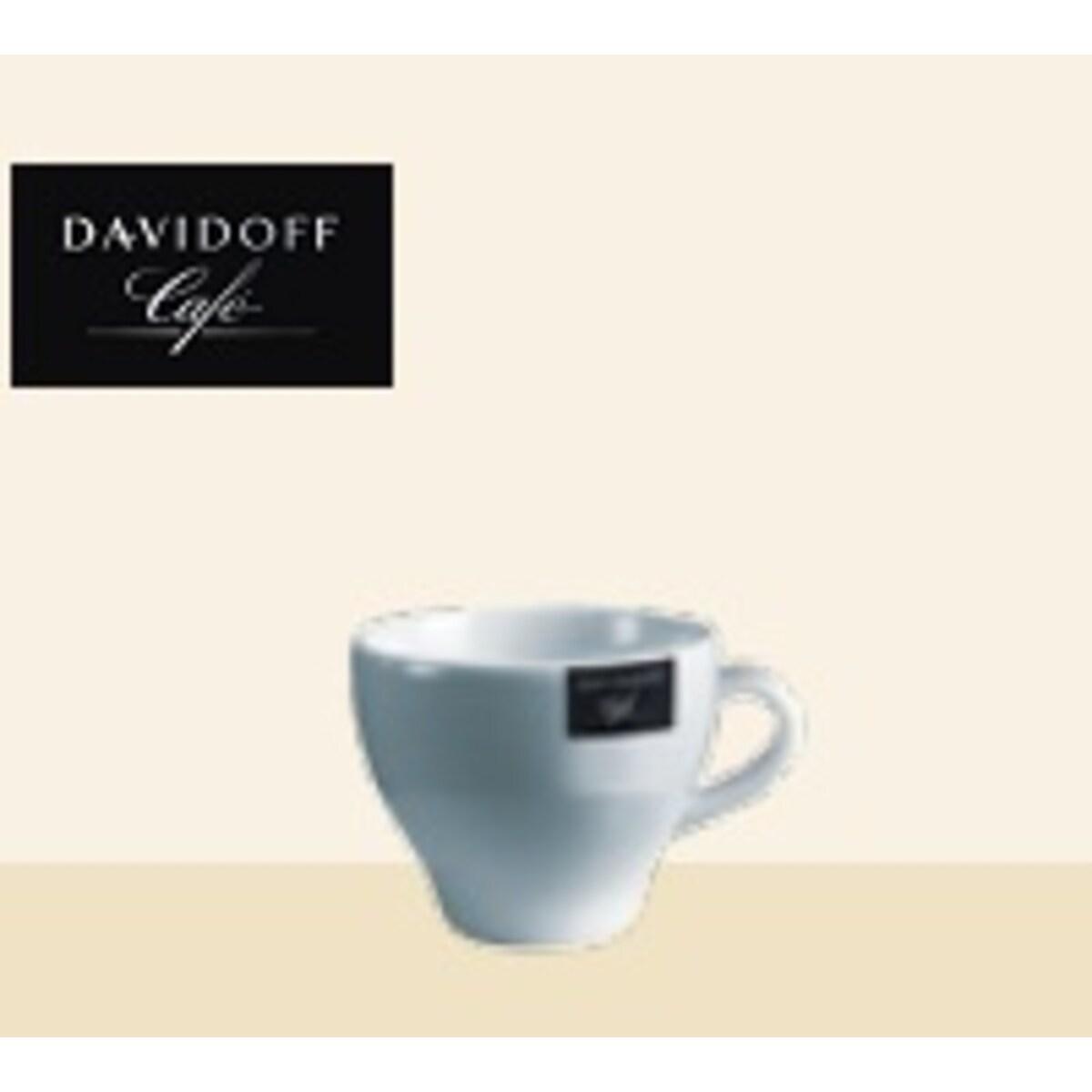 Tchibo Davidoff - порцеланови чаши за кафе с мляко, 6 бр, 150мл