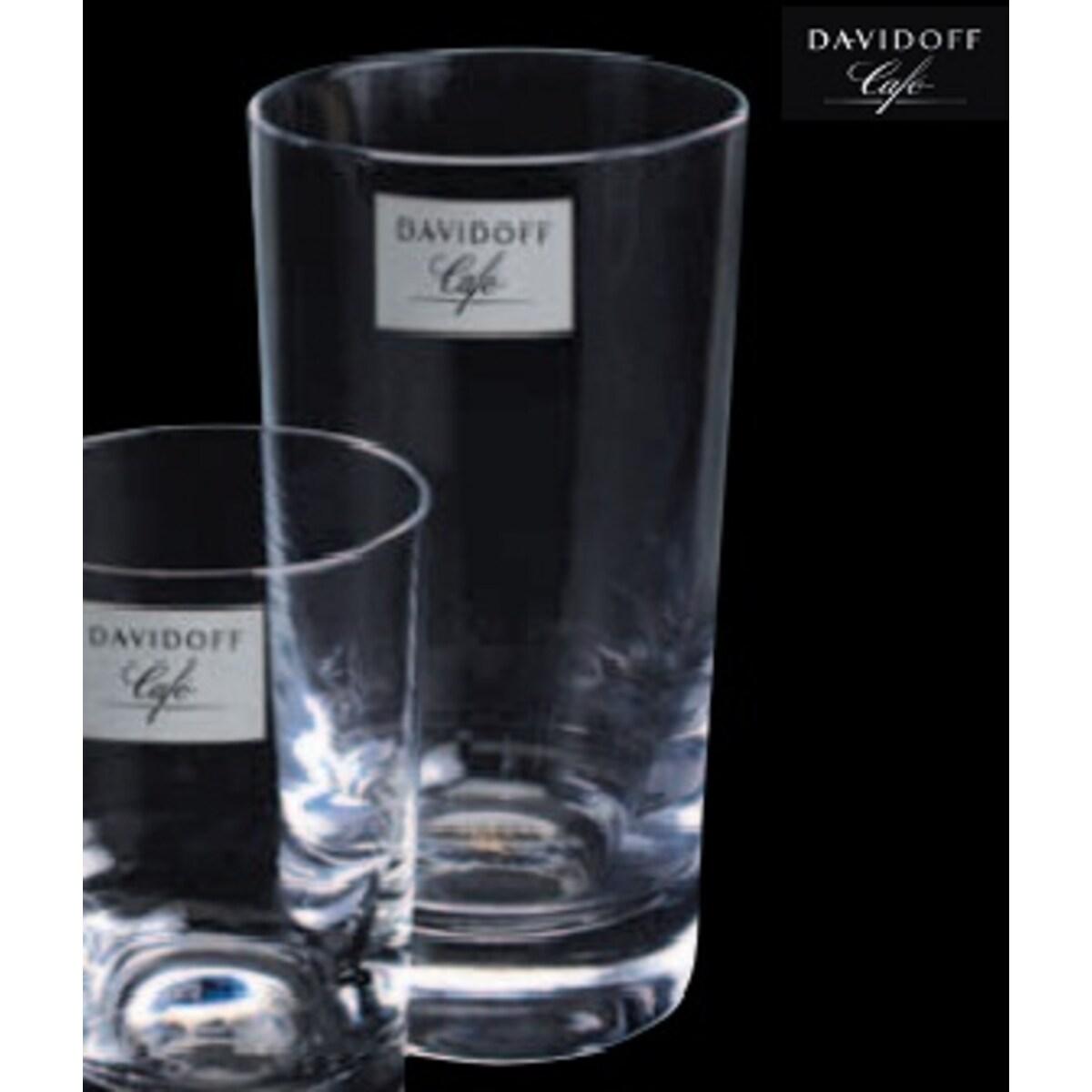 Tchibo Davidoff Café - Комплект стъклени чаши за лате макиато, 6бр, 285мл