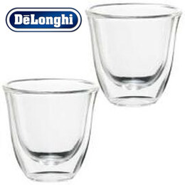 Delonghi Cappuccino Double Wall Thermo Cups 190ml