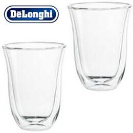 Delonghi Latte Macchiato Double Wall Thermo Cups 220ml