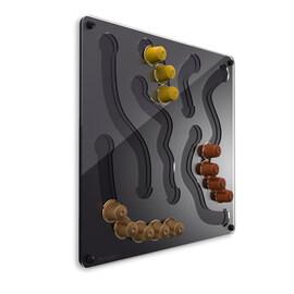 Стенен забавен диспенсер за Nespresso капсули - черен