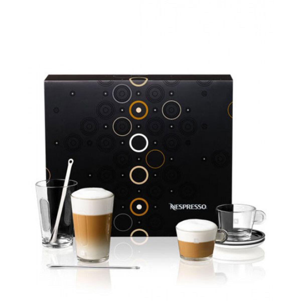 Nespresso чаши Glass Coffee and Milk Kit