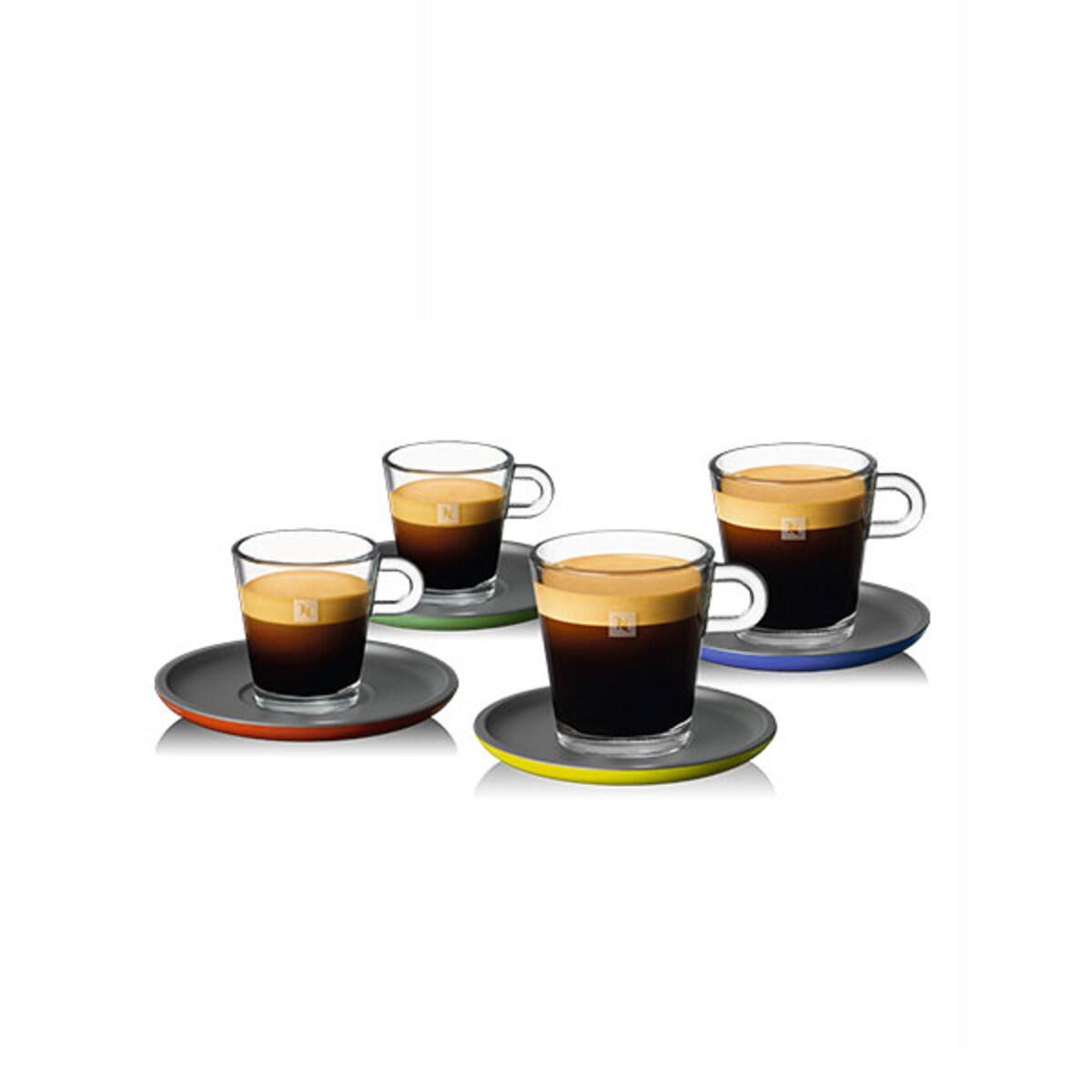Nespresso Glass Espresso & Lungo Set
