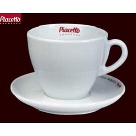 Tchibo Piacetto Espresso - комплект порцеланови чаши за кафе с мляко 6бр, 230мл